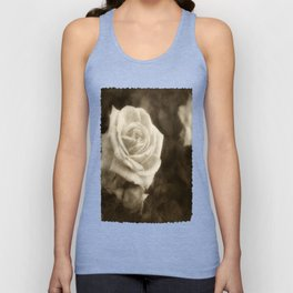 Pink Roses in Anzures 1 Antiqued Unisex Tank Top