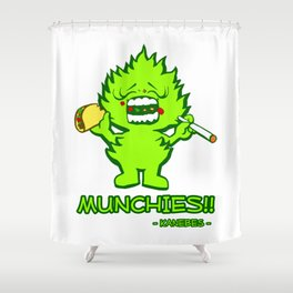Munchies Shower Curtain