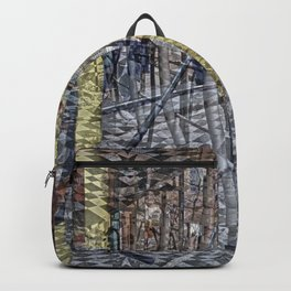 Creases around remnants memorialized emphatically. Backpack