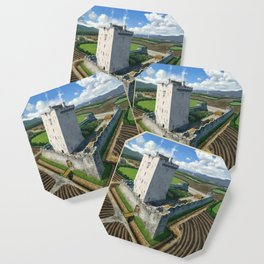 Medieval Tower House Coaster