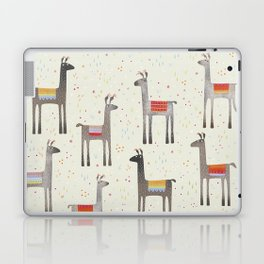 Llamas in the Meadow Laptop & iPad Skin