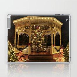 Gazebo Dressed for Christmas Laptop & iPad Skin