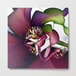 Peacebloom Metal Print