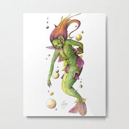 Mermaid 11 Metal Print
