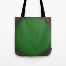 Green Fuzz Tote Bag