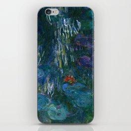 "Claude Monet ""Water Lilies"" (16) iPhone Skin"