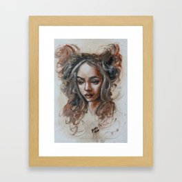 Oil Painting Study Framed Art Print