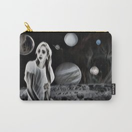 The Ghost of a Goddess, Ghostly Planetary Smoke of Dreams Carry-All Pouch