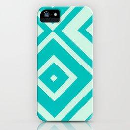 Blue Diamonds iPhone Case