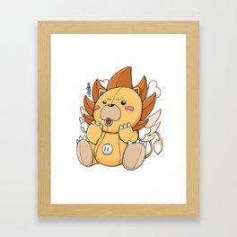 KON X THOUSAND SUNNY X KERO mash Framed Art Print