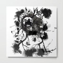 Black Angel Metal Print