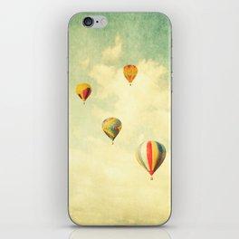 Drifting Balloons iPhone Skin