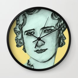 Letritia Kandle Mother of the Letar Wall Clock