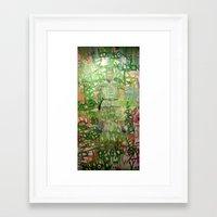 meditation Framed Art Prints featuring Meditation by Michael Hammond