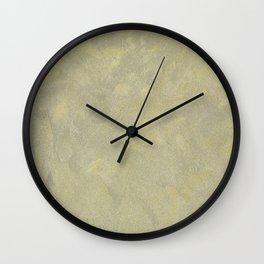 Modern Masters Metallic Plaster - Aged Gold and Silver Fox - Custom Glam Wall Clock