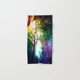 rainbow rain Hand & Bath Towel
