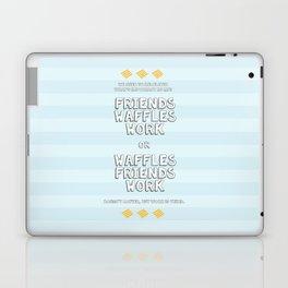 Waffles Friends Work Laptop & iPad Skin