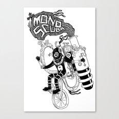 MonoScuba Canvas Print