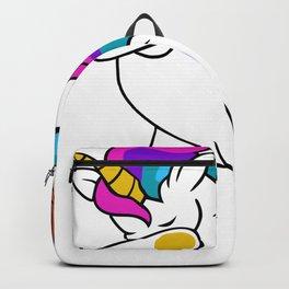 Dabbing Unicorn Basketball Backpack
