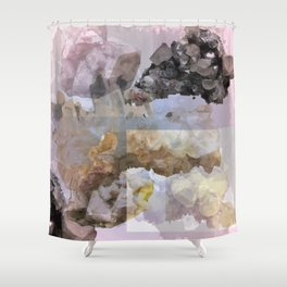 Crystal Pattern 1 Shower Curtain