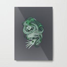 Elder Sign - Virgo Metal Print