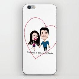 Rebecca Black and Simon Cowell are Friends iPhone Skin