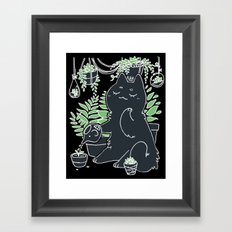 Gardener Framed Art Print