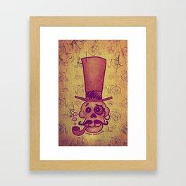 Skull Dandy Framed Art Print