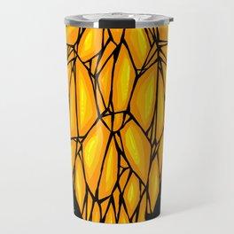Yellow Diamond Travel Mug