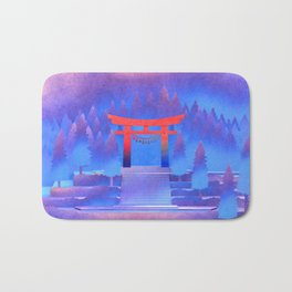 Tengami - Red Gate Bath Mat