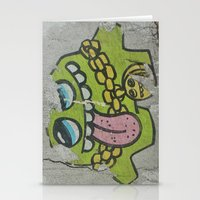 grafitti Stationery Cards featuring Key West Grafitti by Cassidy Marshall