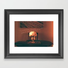 October 25 Framed Art Print