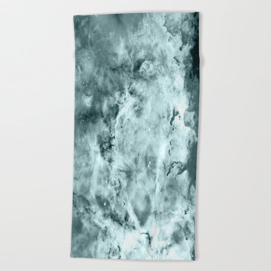 Sea WateR Nebula Beach Towel