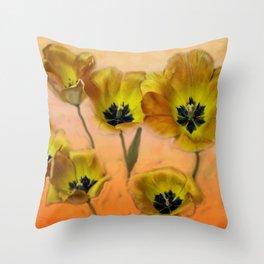 Joyful Springtime Throw Pillow
