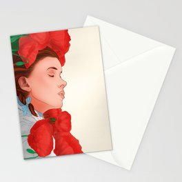 Dorothy & the poppies Stationery Cards