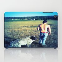 indiana iPad Cases featuring Indiana by Peacockbutterfly  Art