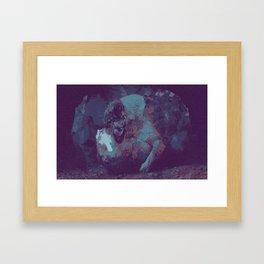 Distressed. Framed Art Print