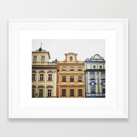 prague Framed Art Prints featuring Prague   by Kameron Elisabeth