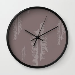 abstraction art Wall Clock