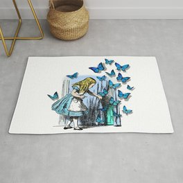 The Key To Wonderland - Alice in Wonderland Rug