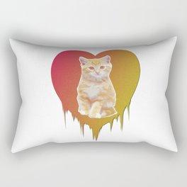 Cat in your heart Rectangular Pillow
