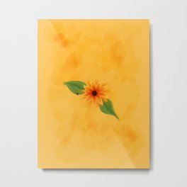 The Flower of Simplicity Metal Print