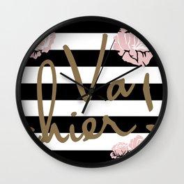 Va Chier Wall Clock