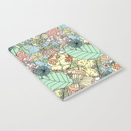 Nature Bloom Pattern Notebook