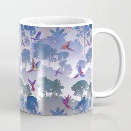 Macaw Canopy // Purple Coffee Mug