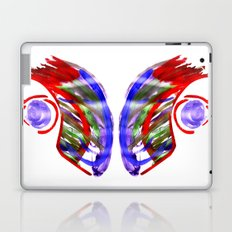 Face and a moon Laptop & iPad Skin
