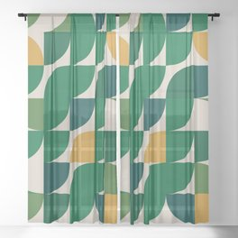Lemon - Summer Sheer Curtain
