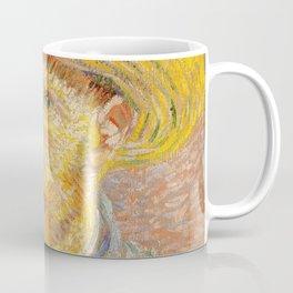 Vincent van Gogh - Self-Portrait with a Straw Hat - The Potato Peeler Coffee Mug