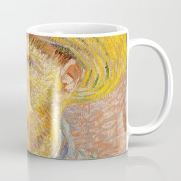 Vincent van Gogh - Self-Portrait with a Straw Hat - The Potato Peeler Coffee Mug