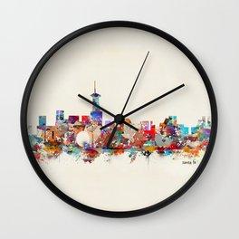 Santa fe new mexico Wall Clock